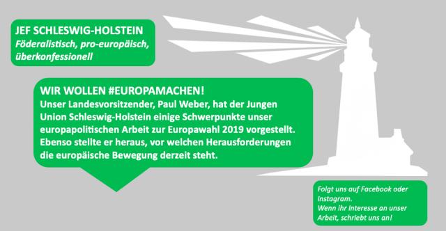 #Europamachen – Einblick in unsere europapolitische Arbeit